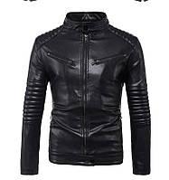 Косуха,мотокуртка мужская,куртка кожаная для байка.Натуральная кожа.2XL.