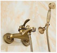 Смеситель для ванной комнаты в бронзе 2-042, фото 1