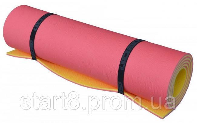 Коврик туристический (каремат) Optima Plus 8 мм (двухслойный, тиснение с двух сторон), фото 2