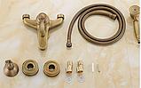 Смеситель для ванной комнаты в бронзе 2-042, фото 5