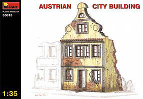 Австрийское городское здание. Руины. 1/35 MINIART 35013