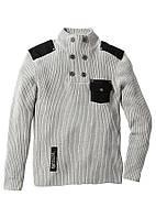 Стильный мужской свитер John Banner