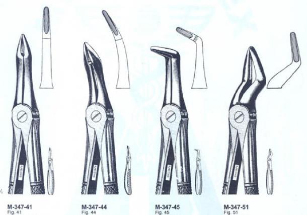 Щипцы экстракционные для корней верхних зубов(Пакистан) NaviStom