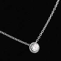 Цепочка Пандора Кристалл 50 см, Пандора серебро