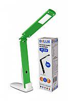 LED Светильник настольный DELUX TF-310 5W 400Lm 4000К бело/зеленый