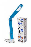 LED Светильник настольный DELUX TF-310 5W 400Lm 4000К бело/синий