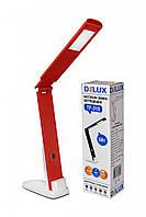 LED Светильник настольный DELUX TF-310 5W 400Lm 4000К бело/красный