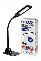 LED Светильник настольный DELUX TF-450 5W 400Lm 4000K черный