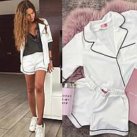 Костюм женский пиджак и шорты  фел7057, фото 1