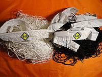 """Волейбольная сетка с шнуром натяжения. D 2,5мм., 10см. ячейка для волейбола """"Эконом 10"""", ассорт"""