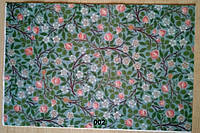 Фетр с цветочным рисунком принтом 002