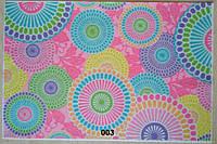 Фетр с цветочным рисунком принтом 003