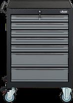 Тележка для инструментов с комплектом Black Edition II 228ед, VIGOR, V2712N, фото 2