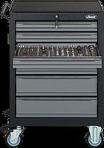 Тележка для инструментов с комплектом Black Edition II 228ед, VIGOR, V2712N, фото 3