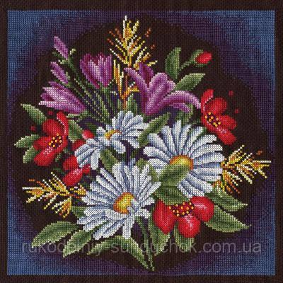 Набор для вышивания крестом Panna C-0957 Луговые цветы