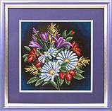 Набор для вышивания крестом Panna C-0957 Луговые цветы, фото 2