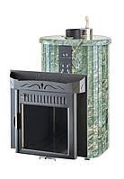 Печь Ферингер Ламель Макси облицовка Жадеит - 30м³