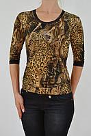 Женская футболка расцветка питон GIGI 3343