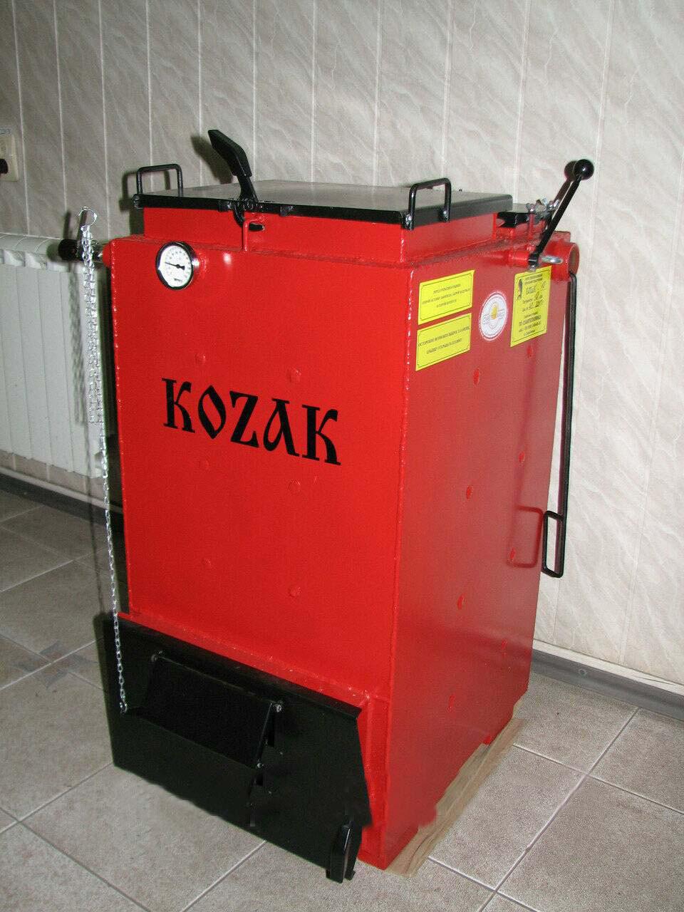 Копия  Твердотопливный котел   KOZAK 7 кВт