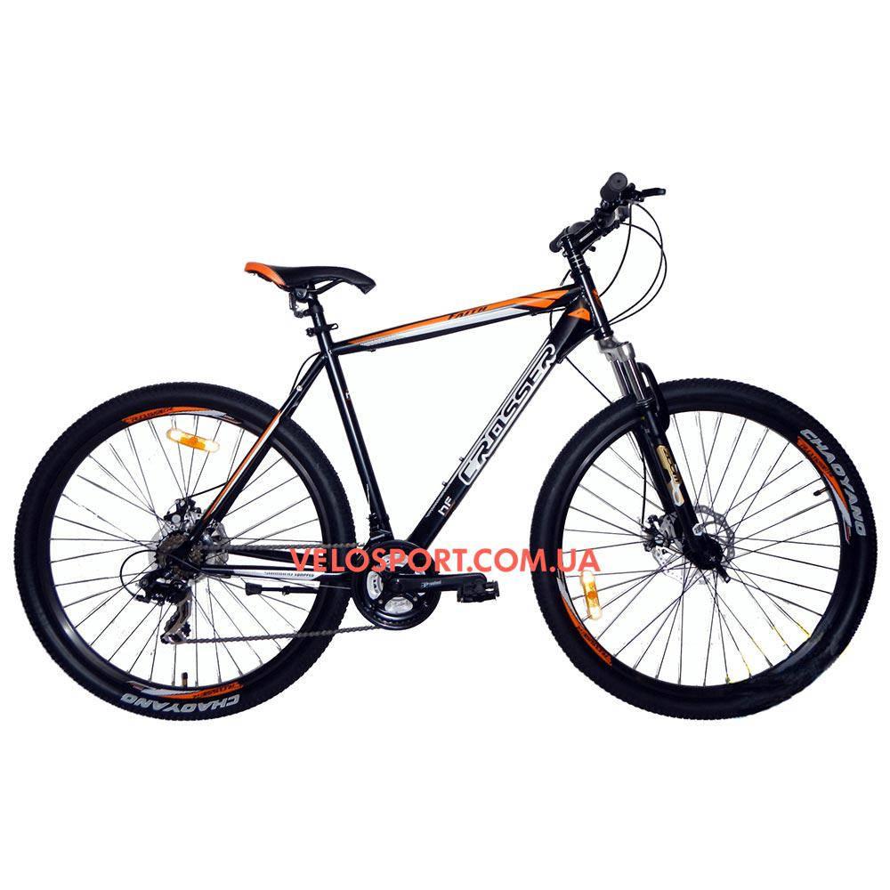 """Горный велосипед Crosser Faith 29 дюймов 22"""" черный"""