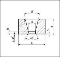 Заготовки волок для волочения труб круглого сечения d=58.0