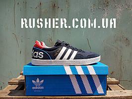 Adidas turf royal, темно-синие