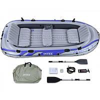 Intex 68325 (366х168х43 см.) Надувная лодка Excursion 5 Set