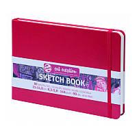 Блокнот для графики Talens Art Creation 14,8*21см 80л 140г/м красная обложка
