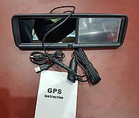 Зеркало-видеорегистратор + GPS навигатор Car Camcorder (Full HD 1080p)