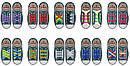 Силиконовые ленивые шнурки для обуви белые набор, фото 6