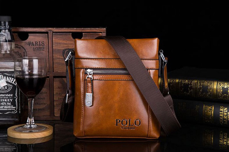 Мужская сумка через плечо Polo Vertikal