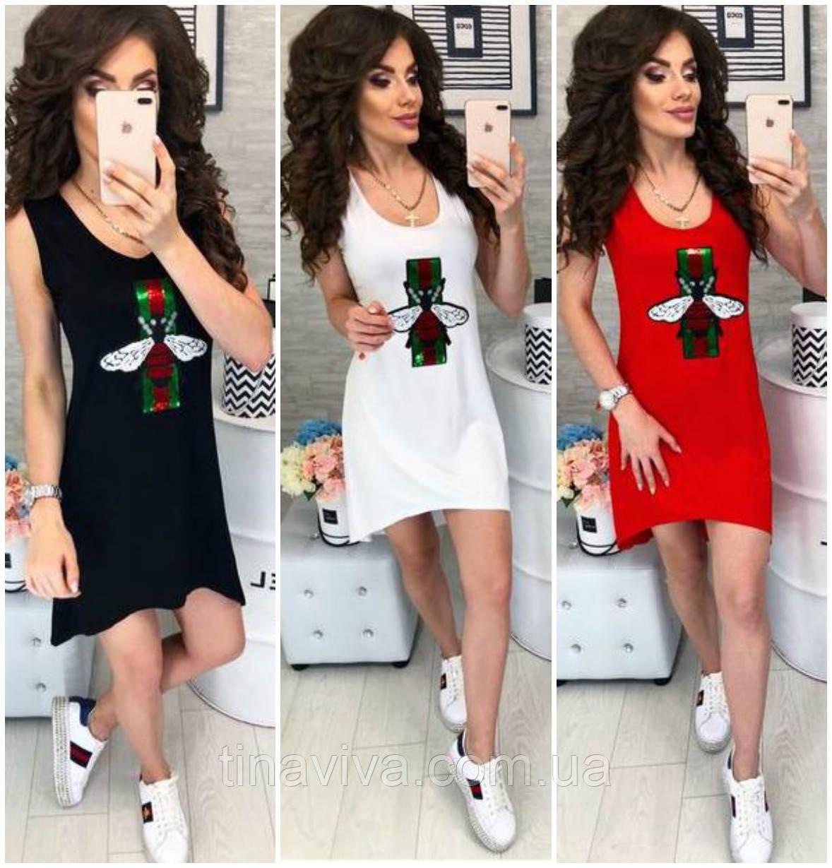 02a486eb490d Платье Gucci (гуччи) гучи , с пчелой реплика ТРИ ЦВЕТА - интернет магазин  одежды