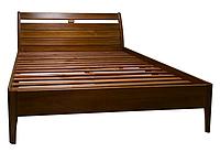 Кровать из дерева модель Натали, массив ольхи
