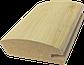 Рамковий профіль МДФ №019 шпонований 22 мм 2,8мх55 мм, фото 2