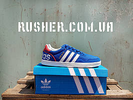 Adidas turf royal, синие