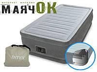 Надувная кровать Intex 64412, 191-99-46см, электронасос