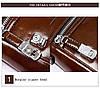 Мужская сумка через плечо Polo Vertikal Темно-коричневый, фото 8