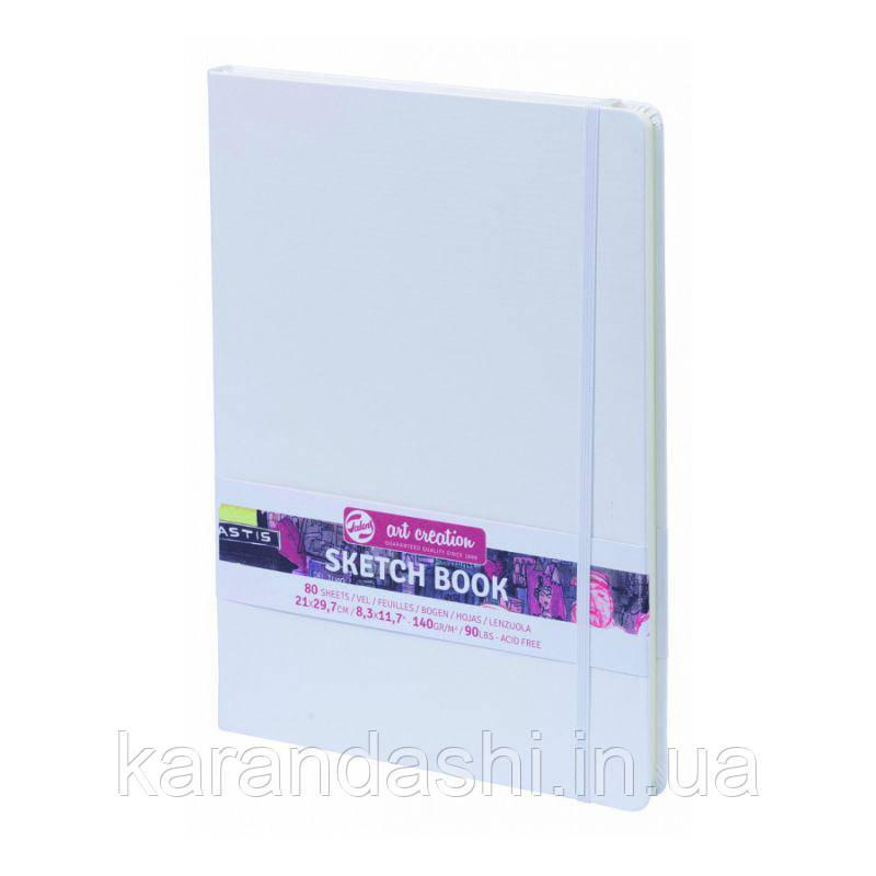 Блокнот для графики Talens Art Creation 21*29,7см 80л 140г/м белая обложка