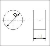 Изделия для штампов, форма 2, D=12 мм