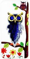 Чехол-накладка TOTO TPU Case Decorative Stones IPhone 6 Plus/6S Plus Owls Purple, фото 1