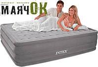 Надувная двуспальная кровать INTEX 64418, 152-203-56см, встроенный электронасос 220w