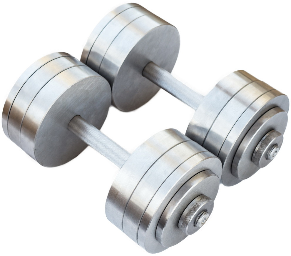 Гантели наборные 2*26 кг (Общий вес 52 кг) Металл