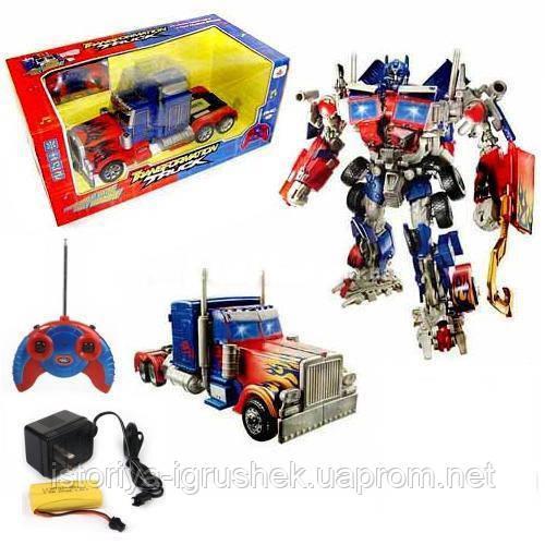 Трейлер-трансформер на р/у трейлер Оптимус Прайм (Transformers) 28128