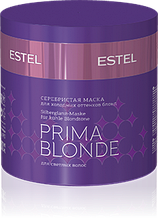 Cеребристая маска для холодных оттенков блонд Estel Prima Blonde