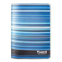 Блокнот Axent Stripes 8001-15-A, мягкая пластиковая обложка, А6, 80 листов, клетка
