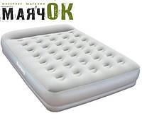 Двухспальная надувная кровать Bestway 67459, 203-152-38см, электро насос