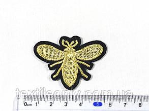 Нашивка пчела 52x40 мм, фото 2