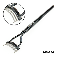 Гребешок для бровей, разделения и завивки ресниц MB-154
