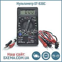 Мультиметр DT-838C с термопарой и прозвонкой