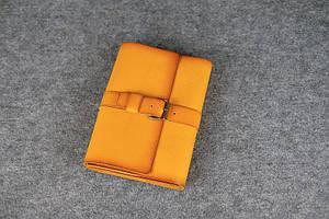 Обложка для ежедневника А5 с пряжкой |105122| Италия | Янтарь